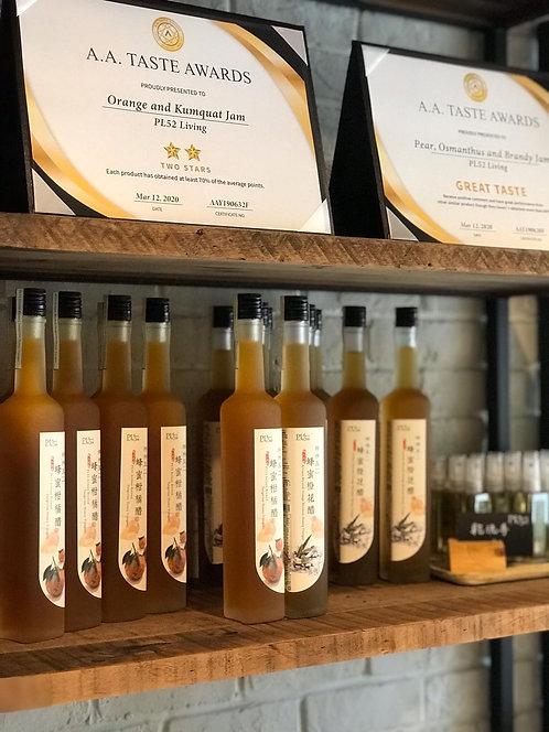一套二瓶 (蜂蜜橙花醋+蜂蜜柑橘醋)
