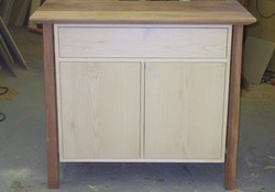 Jatoba~Maple cabinet