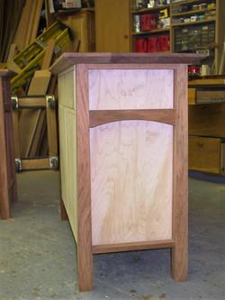 Jatoba~Maple Cabinet 1