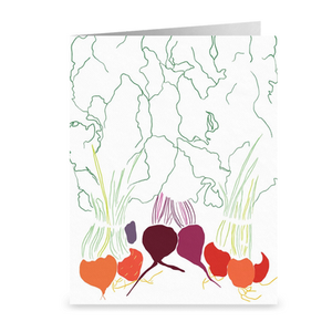 Beets Greeting Card