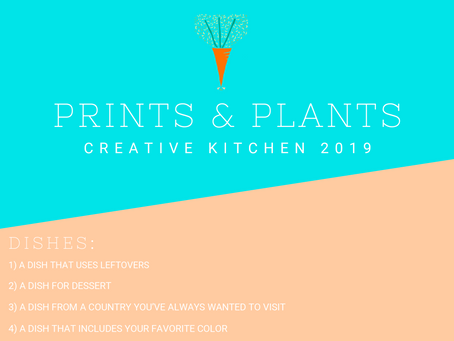 Let the Games Begin: Creative Kitchen 2019 Dish 1