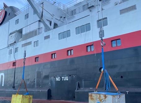 West Inspection på Hurtigruten
