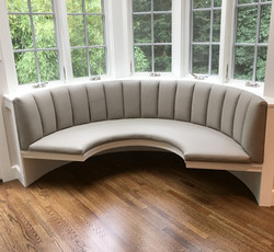 Channeled Banquette