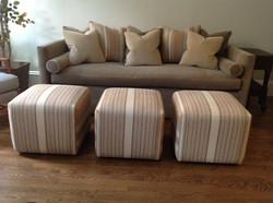 Lounger Sofa & Ottomans, Upholstery