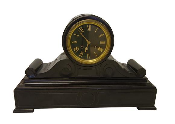Black Marble Tiffany Clock