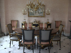 Set of Dining Chairs, Reupholstery