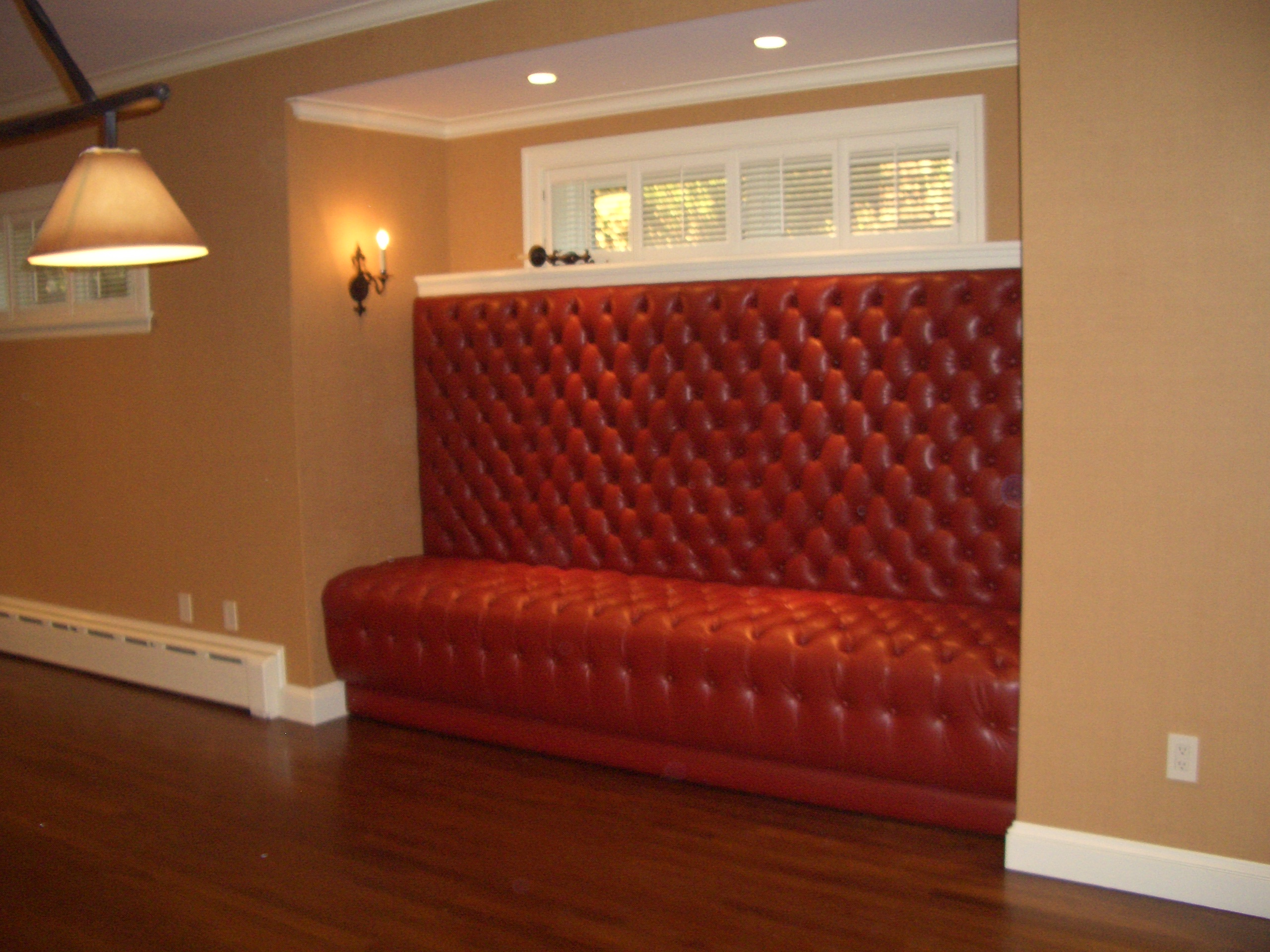 Tufted Banquette, Upholstery