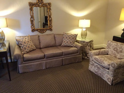Suite Sofa & Chair, Upholstery