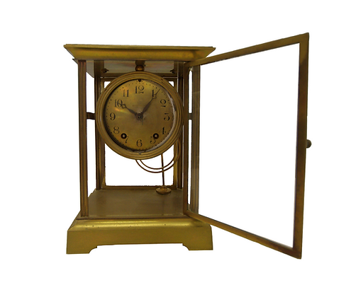 Old Fashioned Gold Clock