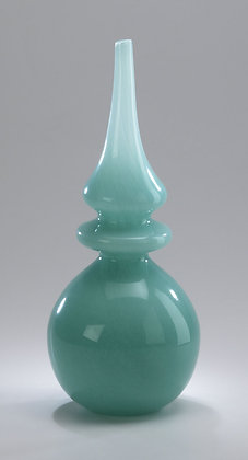 Turquoise Tall Stupa Vase