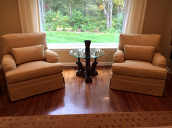 Large Sitting Chairs, Upholstery