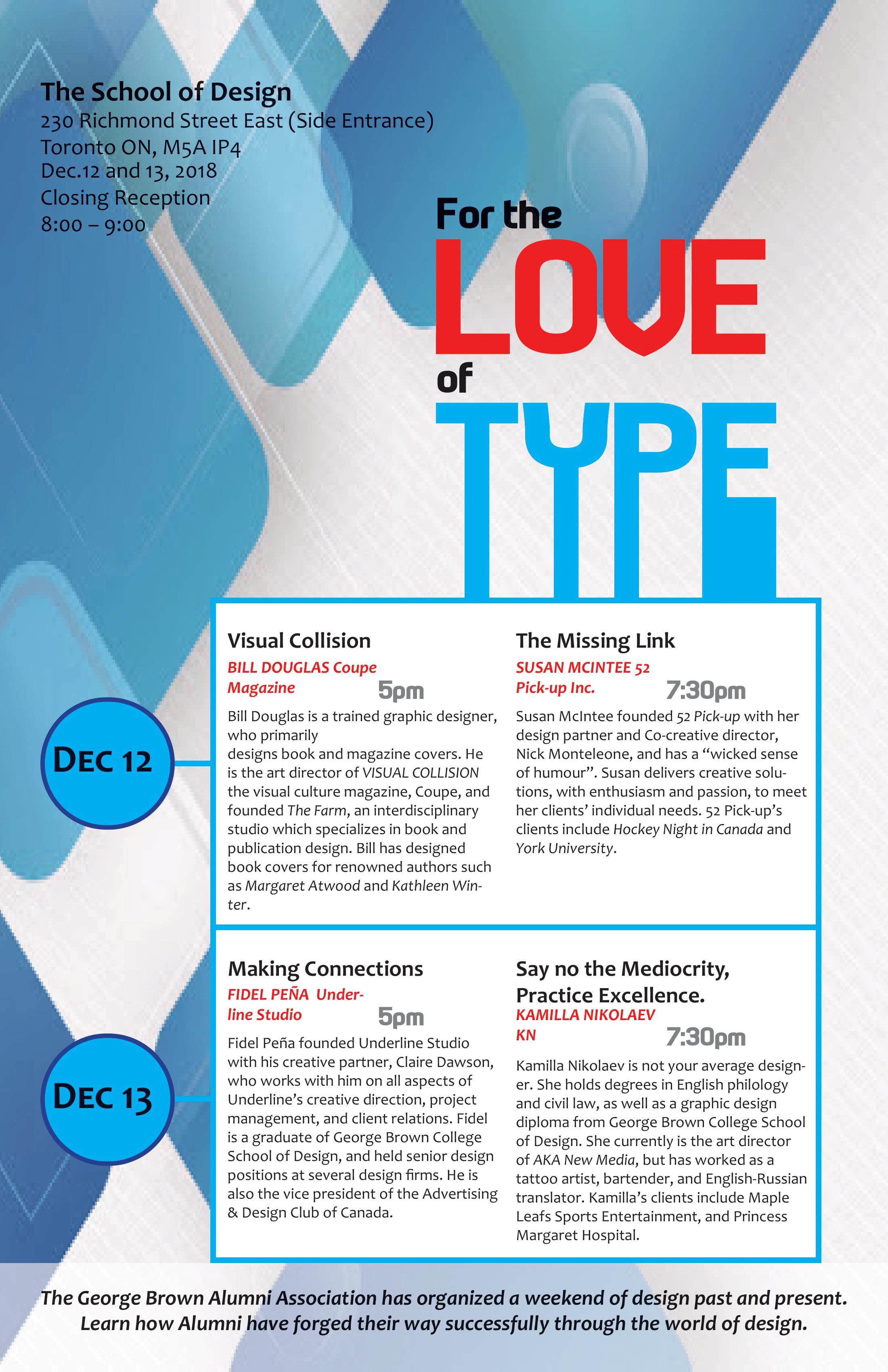 Type Poster Design