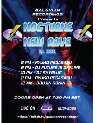 Nocturne New Rave Poster