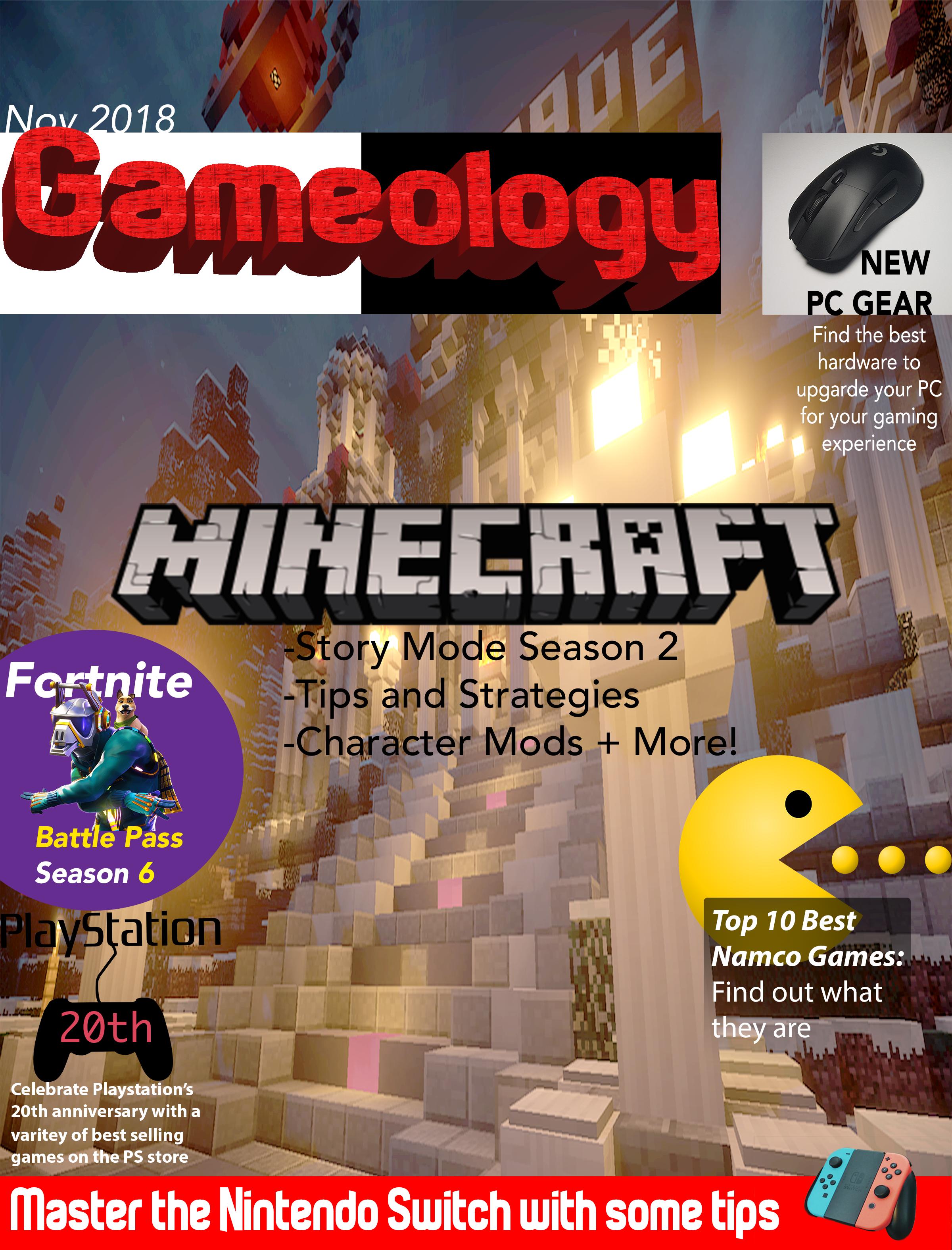 Gaming Magazine Cover