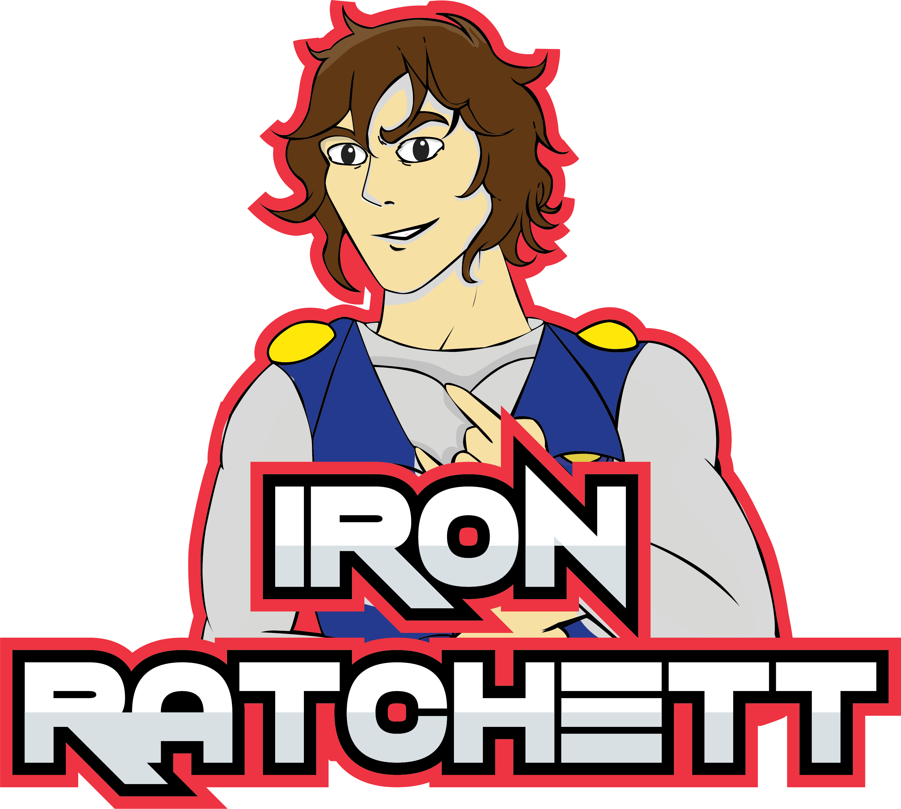 Iron Ratchett ESports Logo Transparent
