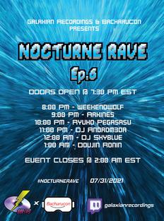 Nocturne Rave Ep. 6 Poster