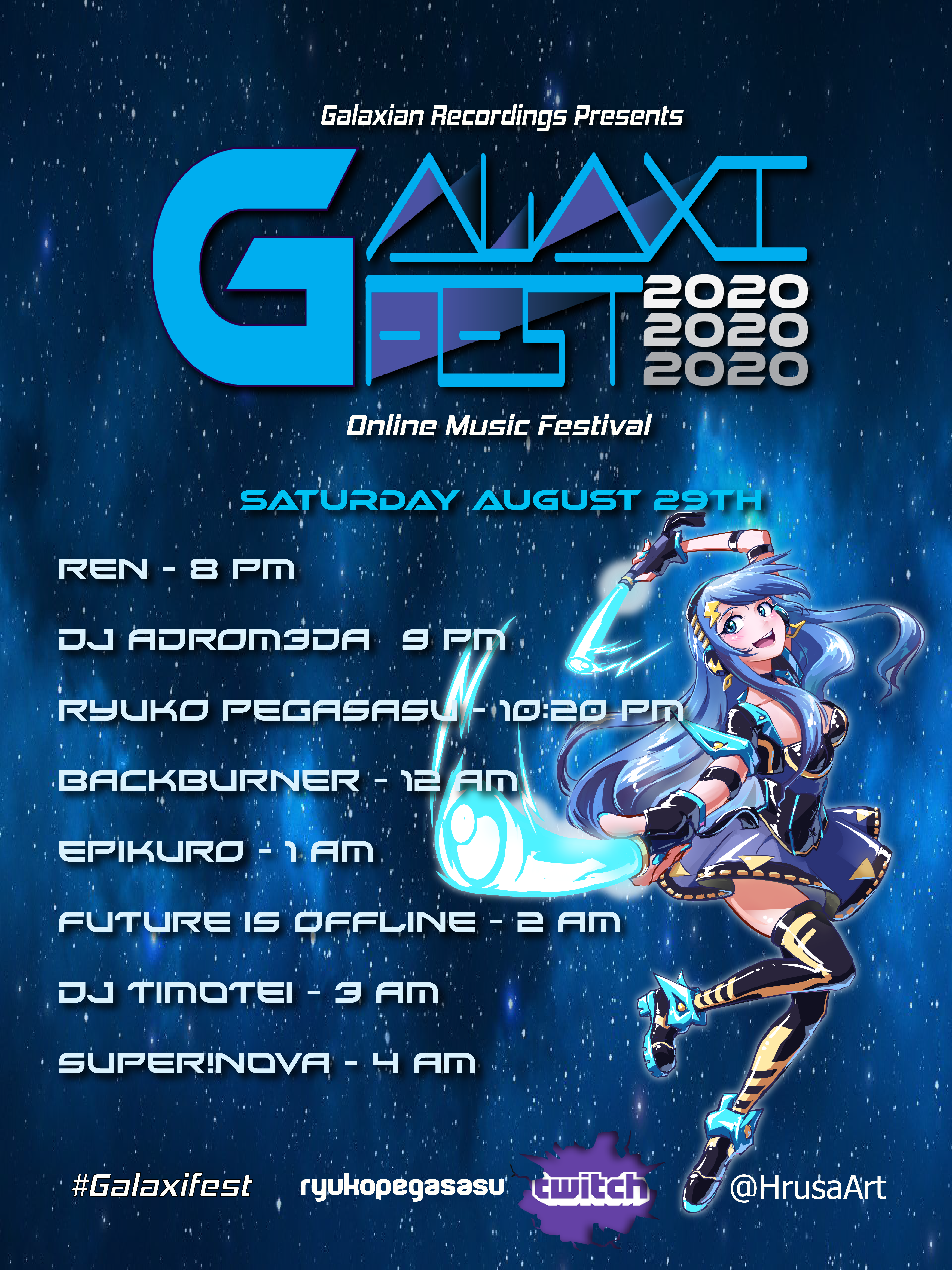 Galaxifest Poster 2020