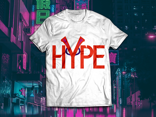 HYPE T-shirt mockup Colour 2 on White.pn