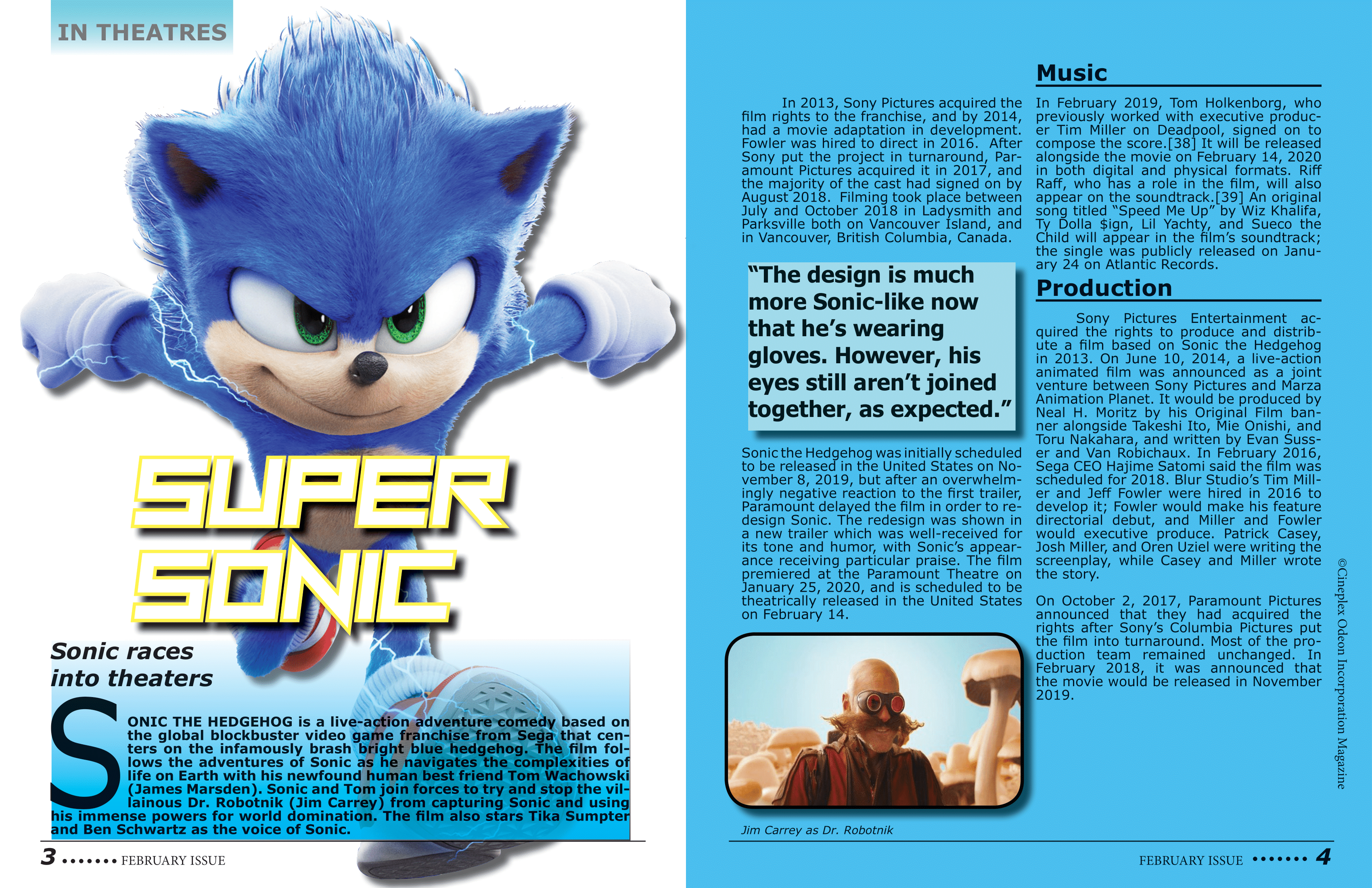 Sonic Movie DPS
