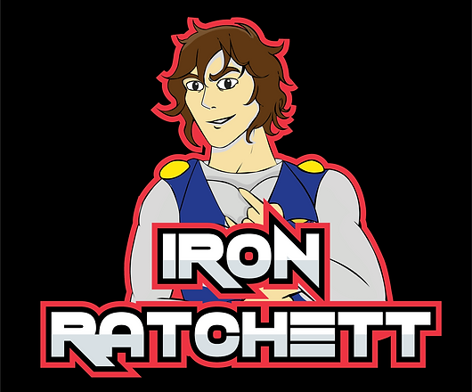 Iron Ratchett Alternative Logo
