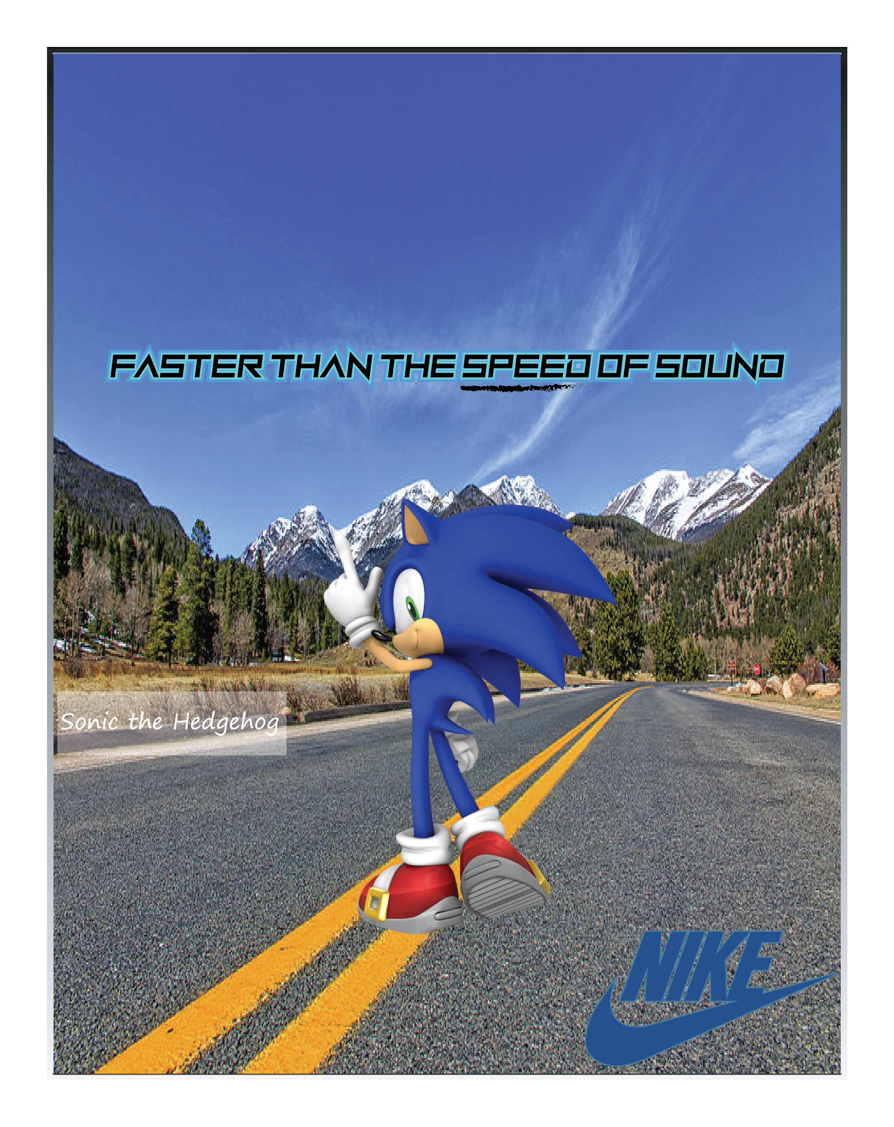 Nike Ad Mockup