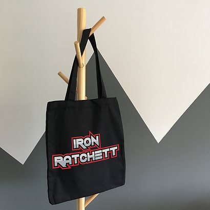 Iron Ratchett Tote Bag Mockup