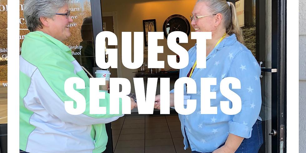 Guest Services Meeting & Dessert