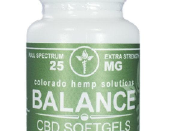 Balance Softgels - 25mg