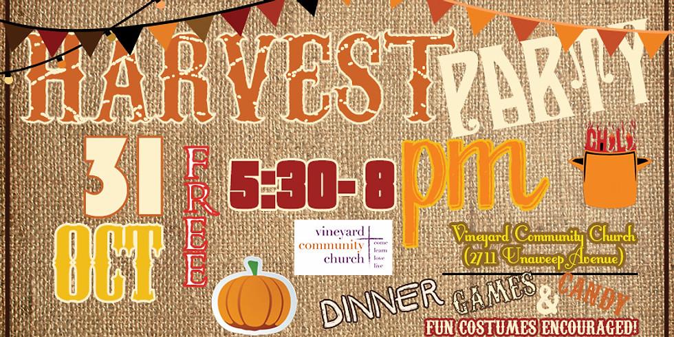 Community Harvest Party