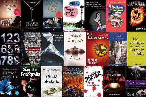 Colección de 4 mil libros digitales