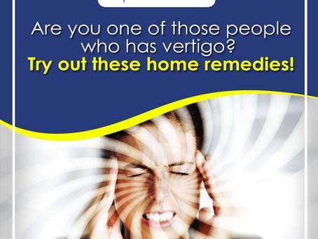 Say NO to Vertigo with These Home Remedies
