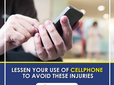 Injuries that Cellphone Use Can Cause