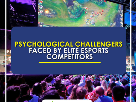 E-Sports News : Gamers Experience the Same Level of Stress as Pro-Athletes