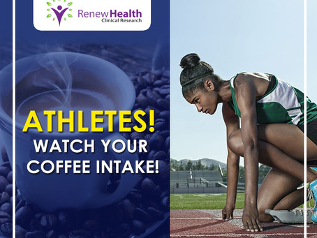 Watch Your Coffee Intake Athletes!