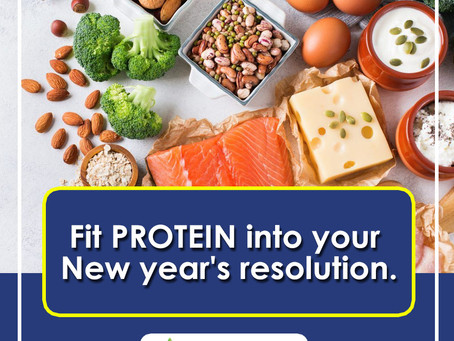 New Year's Resolution? Fit Protein Into That!