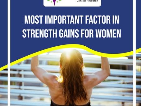 Resistance Training For Women : The Important Factors