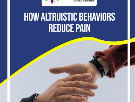 Lessen the Pain with Altruistic Behavior
