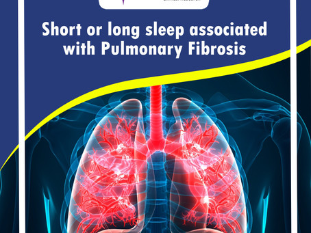 Connection of Sleep and Pulmonary Fibrosis