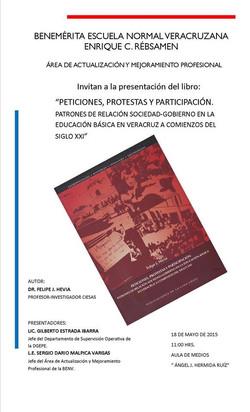Presentación Libro BENV 18 mayo