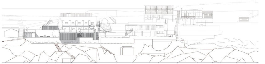 cabanon le corbusier e1027 extension project sea view