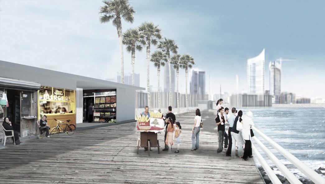 public seafront