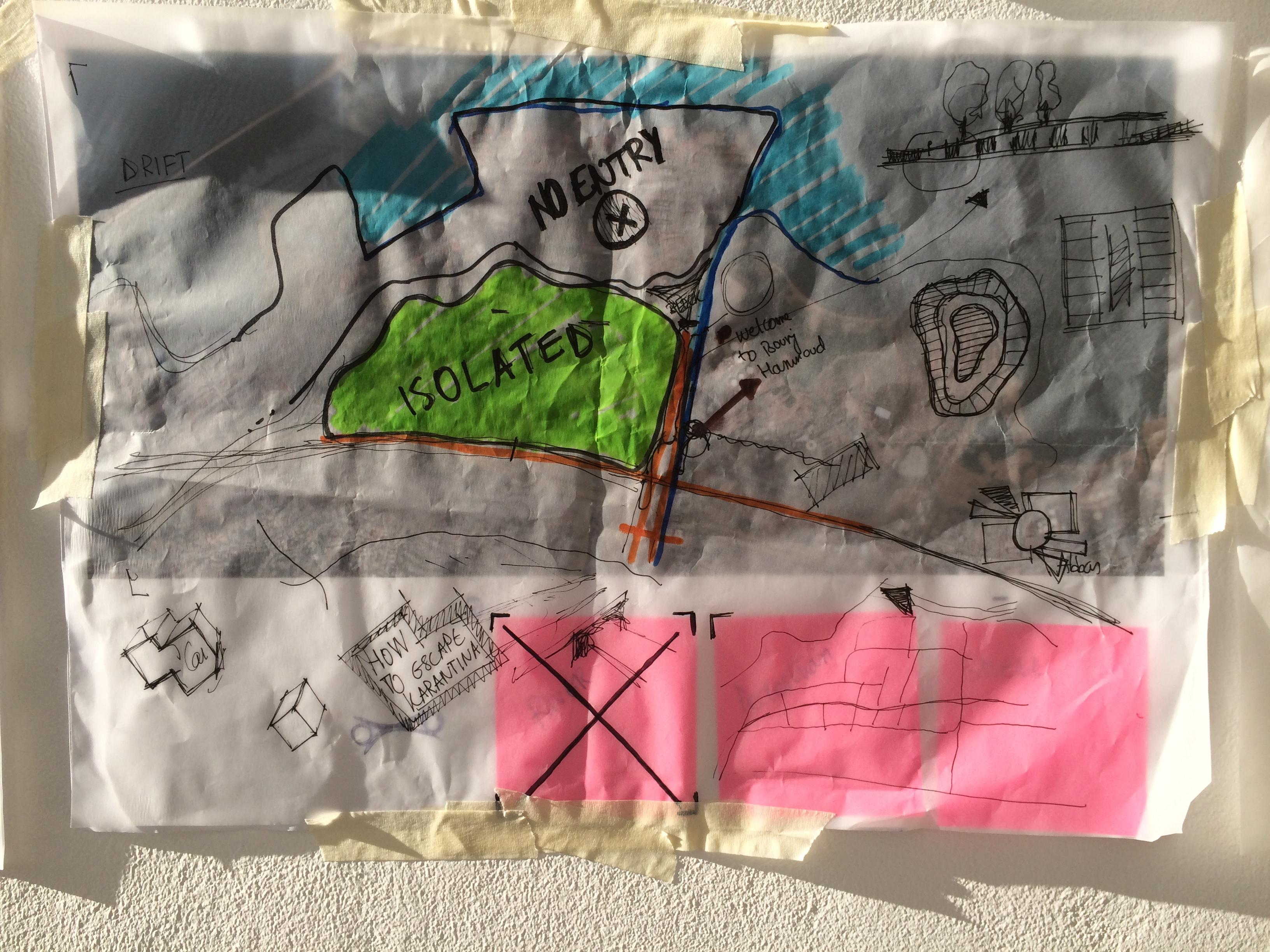 monicab | re-mapping karantina