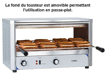 accessoires collectivités CABSAN FRANCE-toaster