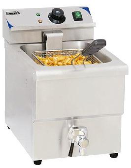 équipement collectivités CABSAN FRANCE-friteuse friteuse 8 litres avec vidange