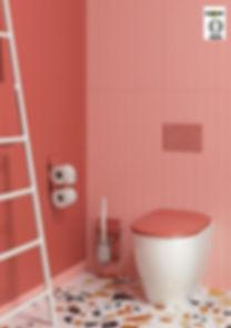 ABATTANT WC OLFA par CABSAN MODELE WOODSLIM