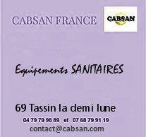 équipements sanitaires cabsan france