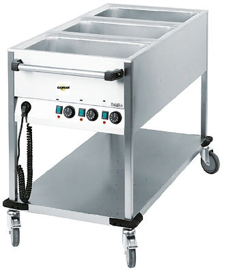 EQUIPEMENTS COLLECTIVITES CABSAN-chariot bain marie