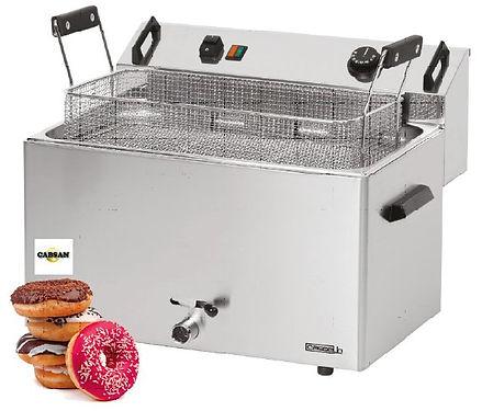 accessoires collectivités-friteuse à beignets 16 litres
