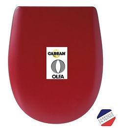 ABATTANT WC - OLFA CABSAN MODELE ARIANE