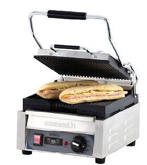 équipements collectivités-grill panini minuteur